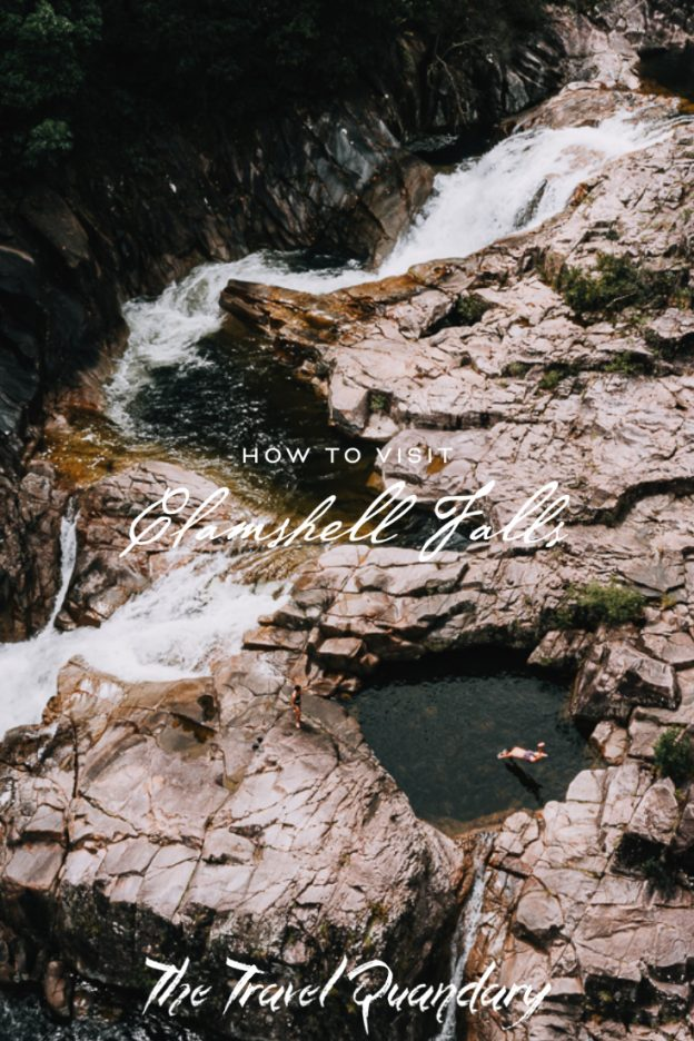 Pin Photo | How to get to Clamshell Falls