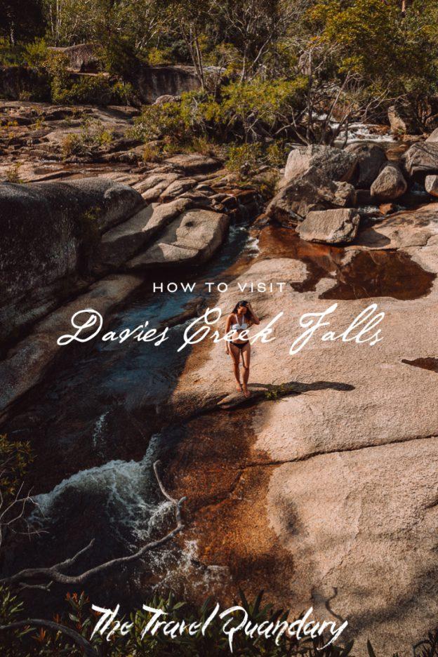 Pin Photo   How to get to Davies Creek Falls