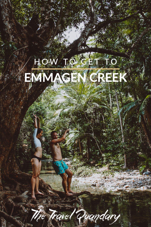 How To Get to Emmagen Creek