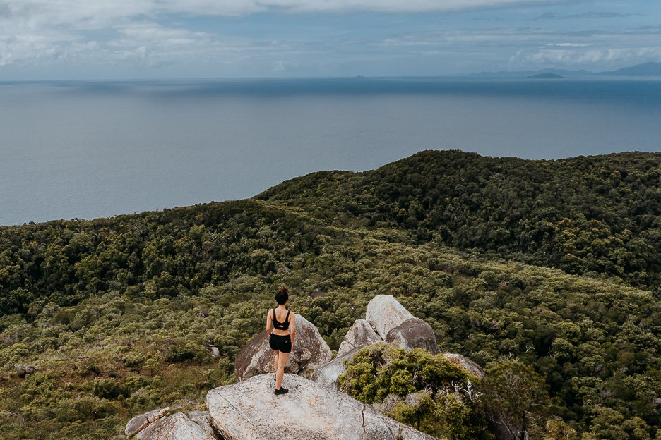 Atop the Summit Hike on Fitzroy Island