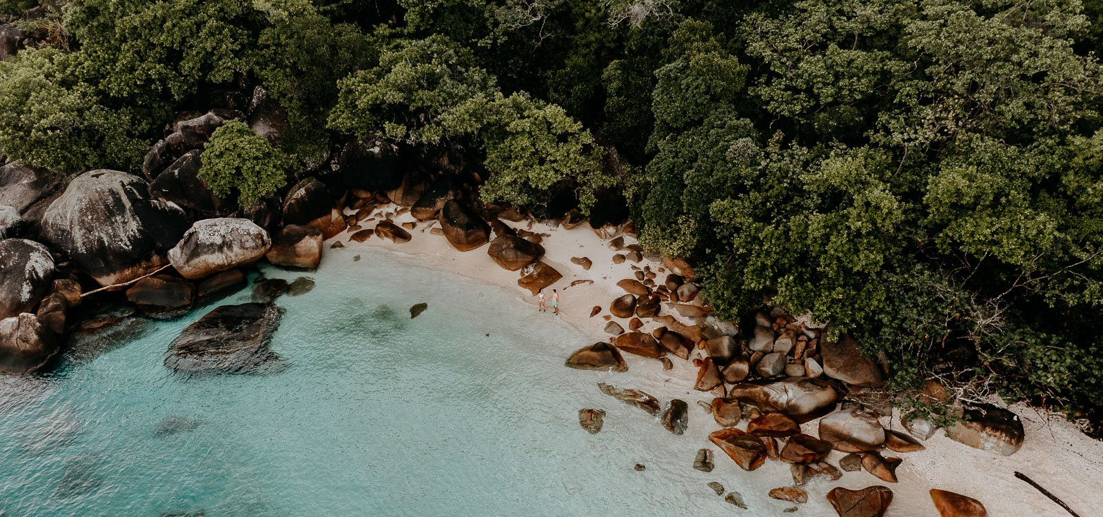 Nudey Beach from above, Fitzroy Island